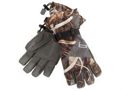 Banded Waterproof Insulated Gloves Polyester Realtree Max-4 Camo XL
