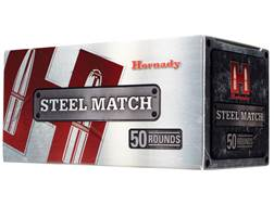 Hornady Steel Match Ammunition 223 Remington 55 Grain Hollow Point Steel Case Box of 50