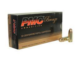 PMC Bronze Ammunition 9mm Luger 115 Grain Full Metal Jacket