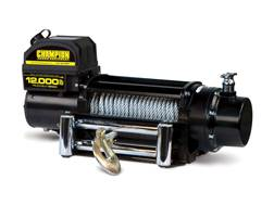 Champion 12000 lb Winch Kit with 85' Galvanized Super Duty Cable