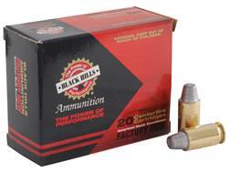Black Hills Ammunition 45 ACP 200 Grain Match Semi-Wadcutter Box of 20