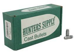 Hunters Supply Hard Cast Bullets 30 Caliber (311 Diameter) 154 Grain Lead Flat Point Box of 250
