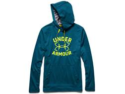 Under Armour Men's UA Dockside Hooded Sweatshirt Polyester Sapphire Lake Medium 38-40