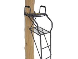 Rivers Edge Bowman Ladder Treestand Steel Grey