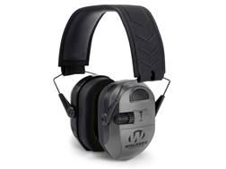 Walker's Ultimate Alpha Power Muff Electronic Earmuffs (NRR 24dB) Gray