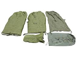 Military Surplus German Sleeping Bag System Grade 2 Green