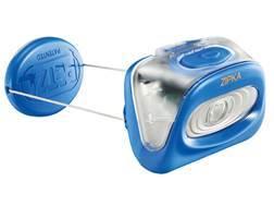 Petzl Zipka Compact 80 Lumen LED Headlamp Victoria Blue