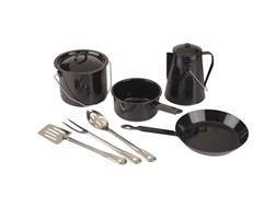 Coleman 8-Piece Enamelware Cook Set and 3-Piece Serving Set Combo