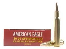 Federal American Eagle Ammunition 30-06 Springfield 150 Grain Full Metal Jacket Box of 20