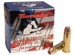 Hornady American Gunner Ammunition 38 Special 125 Grain XTP Jacketed Hollow Point Box of 25