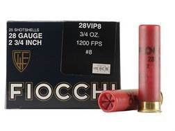 "Fiocchi Exacta Target Ammunition 28 Gauge 2-3/4"" 3/4 oz #8 Shot"