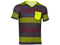 Under Armour Men's ISO-Chill Element Short Sleeve Shirt V-Neck Nylon