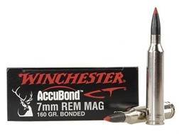 Winchester Ammunition 7mm Remington Magnum 160 Grain Nosler AccuBond Case of 200 (10 Boxes of 20)