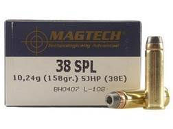 Magtech Sport Ammunition 38 Special 158 Grain Semi-Jacketed Hollow Point