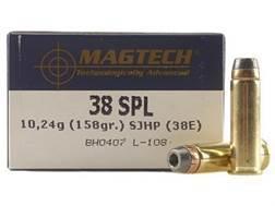 Magtech Sport Ammunition 38 Special 158 Grain Semi-Jacketed Hollow Point