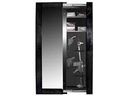 Willa-Hide Hidden Reflections Full-Length Mirror Security Cabinet Black