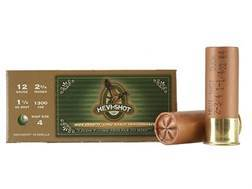"Hevi-Shot Duck Waterfowl Ammunition 12 Gauge 2-3/4"" 1-1/4 oz #4 Non-Toxic Shot"