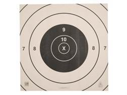 NRA Official High Power Rifle Targets Repair Center SR-C 200 Yard Slow and Rapid Fire Paper Package of 100