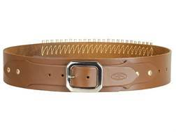 Hunter Adjustable Cartridge Belt 22 Caliber Leather