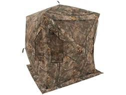 "Browning Phantom X Ground Blind 74"" x 74"" x 70"" Polyester Realtree Xtra Camo with ALPS Firelight 240 Lumen Flashlight"