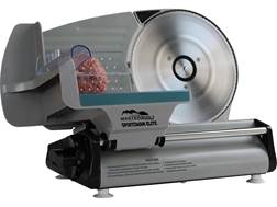 "Masterbuilt Sportsman Elite 8.7"" Electric Meat Slicer Aluminum and Stainless Steel"