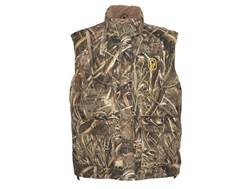 Hard Core Men's Diesel Down Vest Insulated Polyester Realtree Max-5 Camo