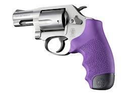 Hogue Monogrip Grips S&W J-Frame Round Butt Rubber Purple