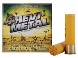"Hevi-Shot Hevi-Metal Waterfowl Ammunition 20 Gauge 3"" 1 oz #3 Hevi-Metal Non-Toxic Shot Box of 25"
