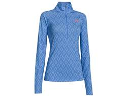 Under Armour Women's UA ISO-Chill Meridian 1/2 Zip Long Sleeve Shirt Polyester Blend