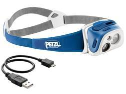 Petzl Tikka R+ Reactive Lighting 170 Lumen LED Headlamp Blue