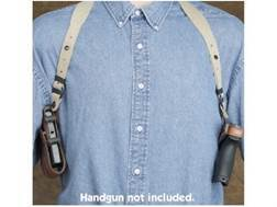 Hunter 5100 Pro-Hide Shoulder Holster and Harness Right Hand Glock 29. 30, 39 Leather Brown