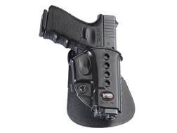 Fobus Evolution Paddle Holster Right Hand Glock 17, 19, 22, 23, 26, 27, 33, 34, 35 Polymer Black