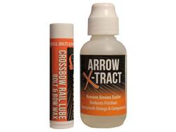 Dead Down Wind Arrow X-Tract and Speedstick Crossbow Rail Lube Combo