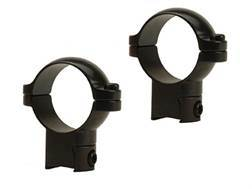 """Leupold 1"""" Ring Mounts Rimfire 3/8"""" Grooved Receiver Gloss"""