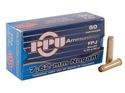 Prvi Partizan Ammunition 7.62mm Russian Nagant (7.62x38mmR) 98 Grain Full Metal Jacket Flat Point Box of 50