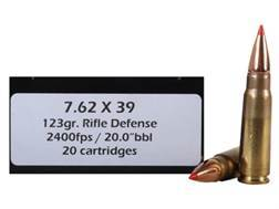 Doubletap Ammunition 7.62x39mm 125 Grain Rifle Defense Box of 20