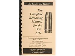 "Loadbooks USA ""357 Sig"" Reloading Manual"