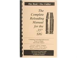 "Loadbooks USA ""357 Sig"" Reloading Manual"