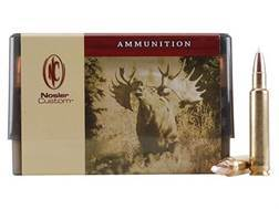 Nosler Custom Ammunition 378 Weatherby Magnum 260 Grain AccuBond Spitzer Box of 20