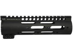 Midwest Industries Gen 2 SS-Series Free Float Modular Rail Handguard AR-15 Carbine Length Aluminum Black