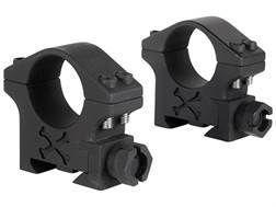 "Talley 1"" Tactical Picatinny-Style Rings Matte Low"
