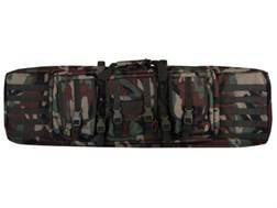 "Voodoo Tactical Padded Weapons Rifle Gun Case 46"" Nylon Woodland Camo"