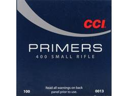 CCI Small Rifle Primers #400