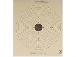 NRA Official Air Rifle Training Targets TQ-18 10 Meter Training Paper Package of 100