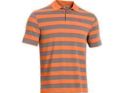 Under Armour Men's UA Strength Stripe Polo Shirt Synthetic Blend
