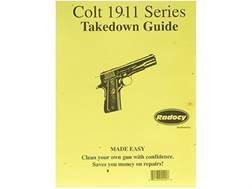 """Radocy Takedown Guide """"Colt 1911 Series"""""""