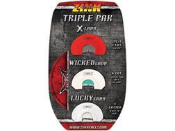 Zink Triple Pak Diaphragm Turkey Call Combo