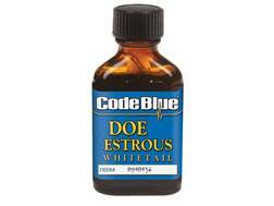 Code Blue Estrous Doe Deer Scent Liquid 1 oz