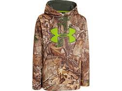 Under Armour Youth Scent Control Armour Fleece Hooded Sweatshirt Polyester Realtree Xtra Camo Small