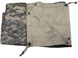 "Military Surplus Tarp 91"" x 81"" Grade 1 ACU Digital Camo/Coyote"